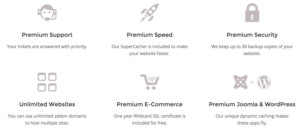 SiteGround Premium Features