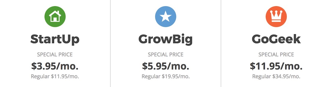 SiteGround Prices