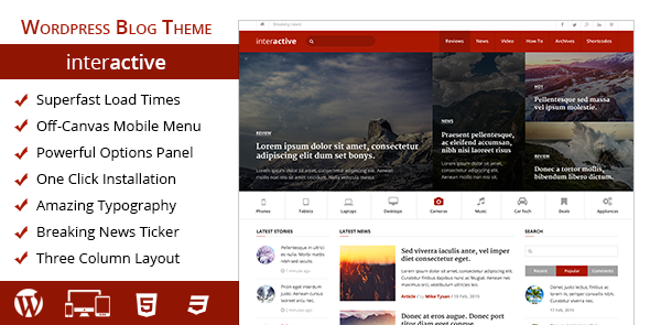 Interactive Theme from MyThemeShop