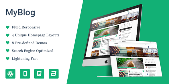 MyBlog Theme from MyThemeShop