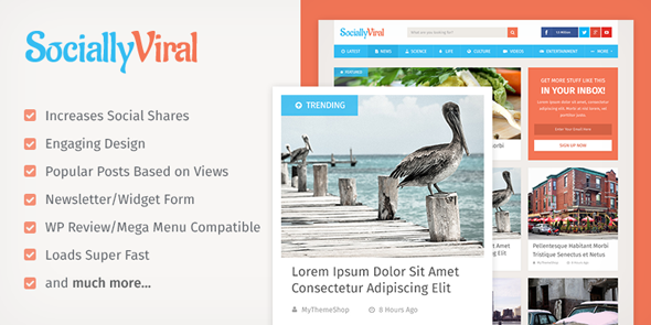 SociallyViral Theme from MyThemeShop