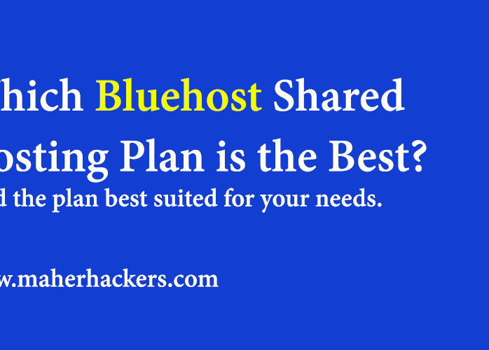 Bluehost Plans Comparison: Find the best Bluehost Plan