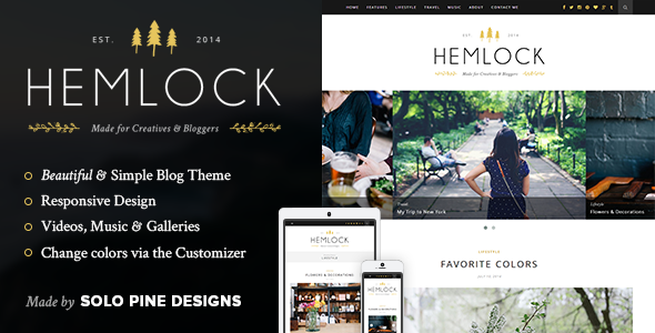 Hemlock theme from ThemeForest