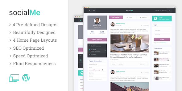 socialMe theme by MyThemeShop