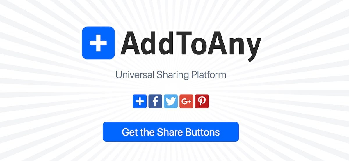 AddToAny Social Sharing Buttons