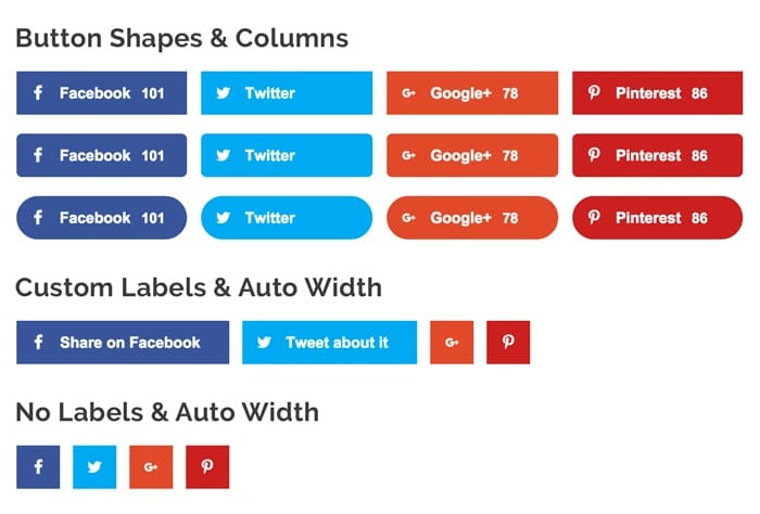 Social Pug - WordPress Social Sharing Buttons