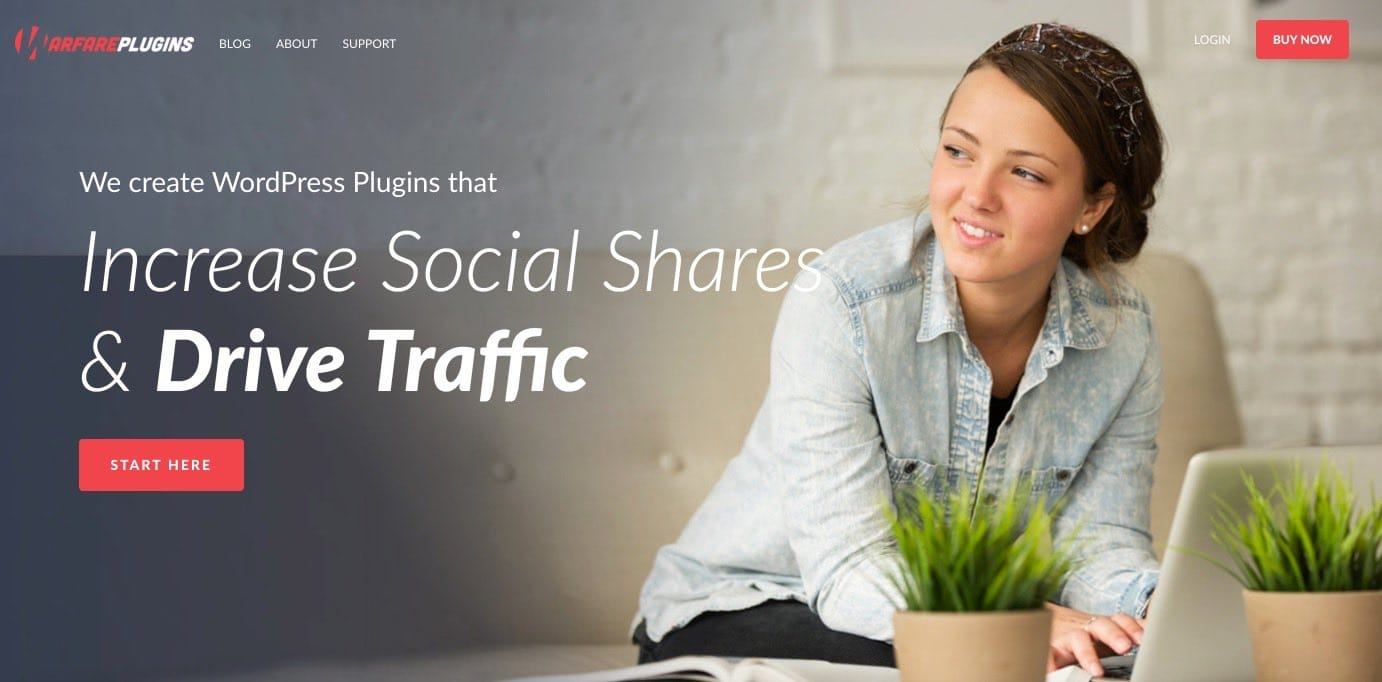 Social Warfare - Best Social Sharing Plugins