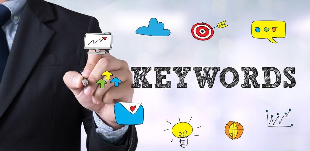The role of Keywords in SEO