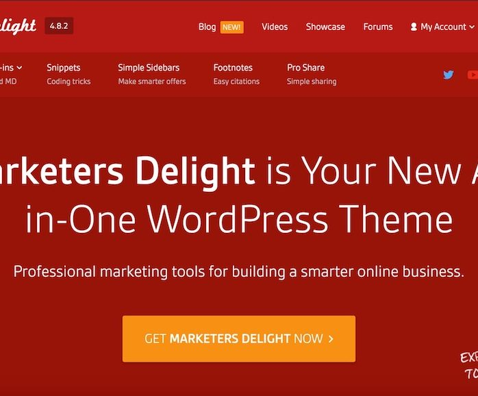 Marketers Delight - Best Premium WordPress Themes