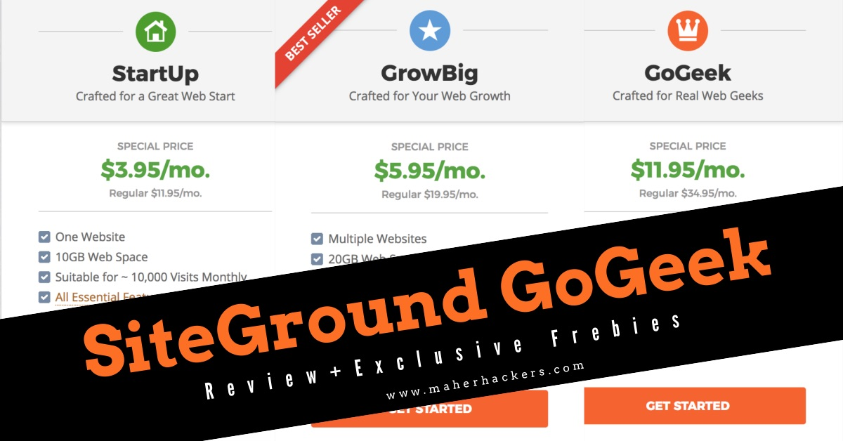 SiteGround GoGeek Review