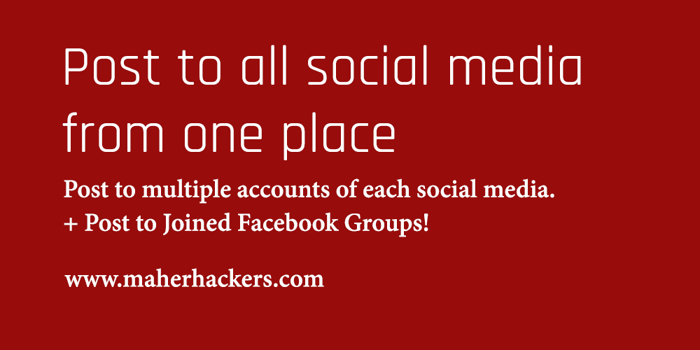 How to Post to All Your Social Media Accounts at Once