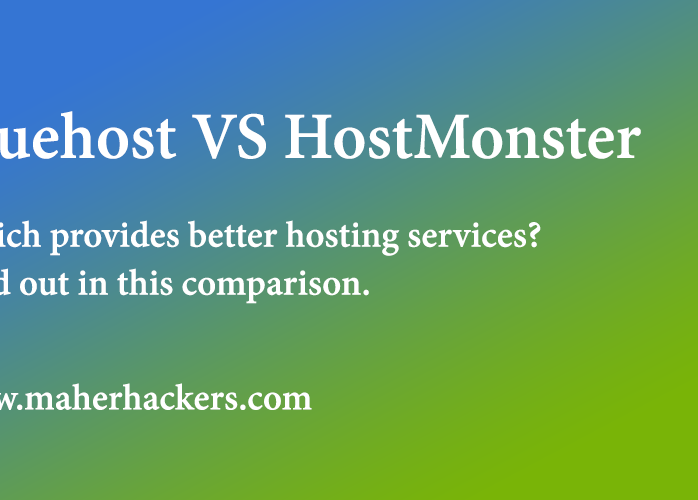 Bluehost Vs HostMonster