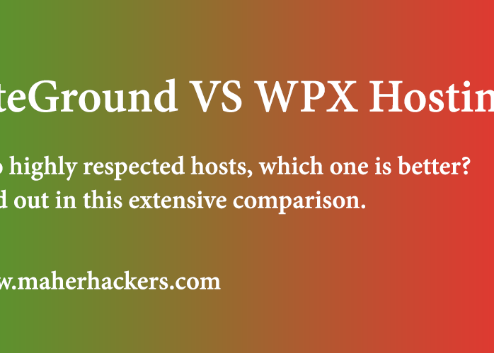 SiteGround VS WPX Hosting