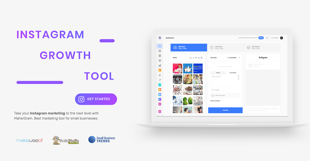 MaherGram Review: Instagram Growth Tool That Works