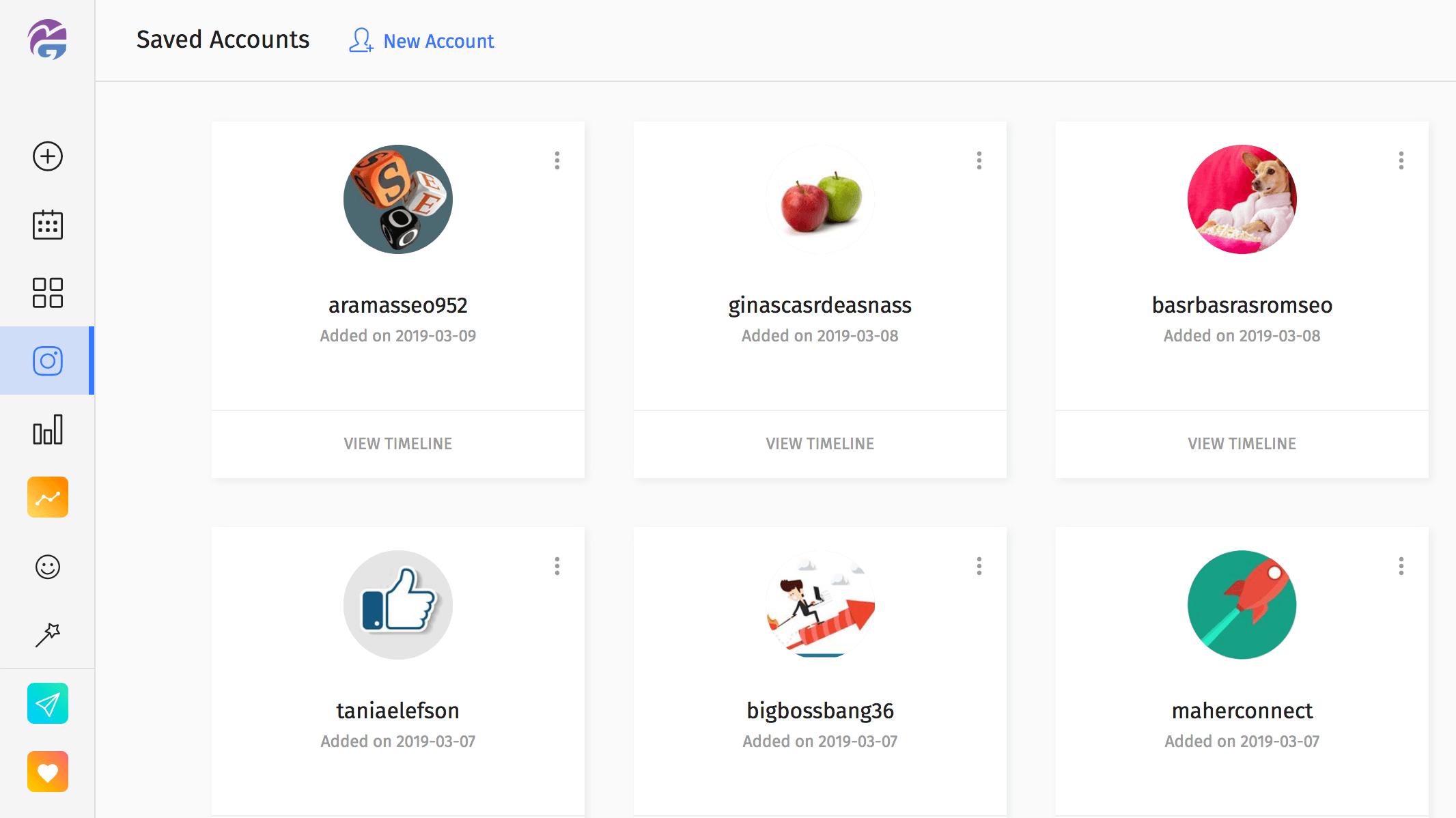 Manage Multiple Instagram Accounts with MaherGram